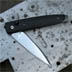 Pascuarsa tactical BU.R.L. - partly opened knife - side view
